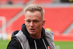 March 16, 2019 - Sunderland, Tyne and Wear, United Kingdom - Walsall manager Dean Keates before the Sky Bet League 1 match between Sunderland and Walsall at the Stadium Of Light, Sunderland on Saturday 16th March 2019. (Credit: Steven Hadlow | MI News) (Credit Image: © Mi News/NurPhoto via ZUMA Press)