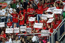 MACERATA - PERUGIA<br /> SEMIFINALE PALLAVOLO FINAL 4 COPPA ITALIA A1-M 2013-2014<br /> BOLOGNA 08-03-2014<br /> FOTO GALBIATI - RUBIN