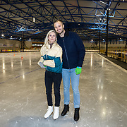 NLD/Dronten/20191111 - Sint on Ice, Jim Bakkum en partner Bettina Holwerda