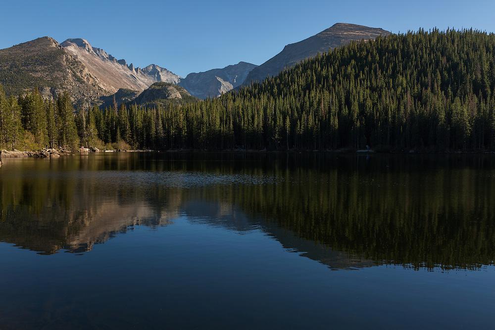 Bear Lake, Rocky Mountain National Park, Colorado, USA