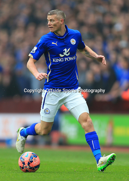 15th February 2015 - FA Cup 5th Round - Aston Villa v Leicester City - Paul Konchesky of Leicester - Photo: Simon Stacpoole / Offside.