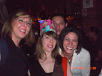Aliza's Birthday party with Deanna, Julio, Karen, me, Carlos at Bembe
