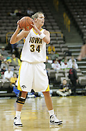 28 NOVEMBER 2007: Iowa forward Johanna Solverson (34) in the first half of Georgia Tech's 76-57 win over Iowa in the Big Ten/ACC Challenge at Carver-Hawkeye Arena in Iowa City, Iowa on November 28, 2007.
