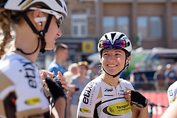 Valerie Demey (Topsport Vlaanderen Etixx) at the 121 km Stage 1 of the Lotto Belgium Tour 2016 on 7th September 2016 in Moorslede, Belgium. (Photo by Sean Robinson/Velofocus).