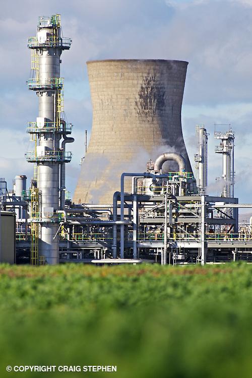 Grangemouth oil refinery, Scotland