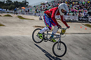 16 Boys #199 (SHAHMARZADE Yelmar) AZE at the 2018 UCI BMX World Championships in Baku, Azerbaijan.