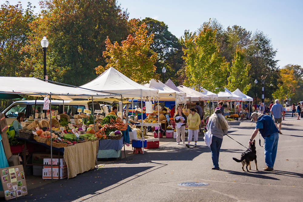 Farmer's Market at Riverfront Park, Corvallis, Oregon.