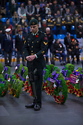 KELOWNA, CANADA - NOVEMBER 11:  Remembrance Day Ceremonies on November 11, 2017 at Royal LePage Place in West Kelowna, British Columbia, Canada.  (Photo By Cindy Rogers/Nyasa Photography,  *** Local Caption ***