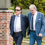 NLD/Bilthoven/20170706 - Uitvaart Ton de Leeuwe, ex partner Anita Meyer, Jan Rietman en Lee Towers