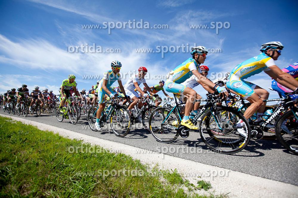 Cyclist during 1st Stage (164 km) at 19th Tour de Slovenie 2012, on June 14, 2012, in Novo Mesto, Slovenia. (Photo by Matic Klansek Velej / Sportida)