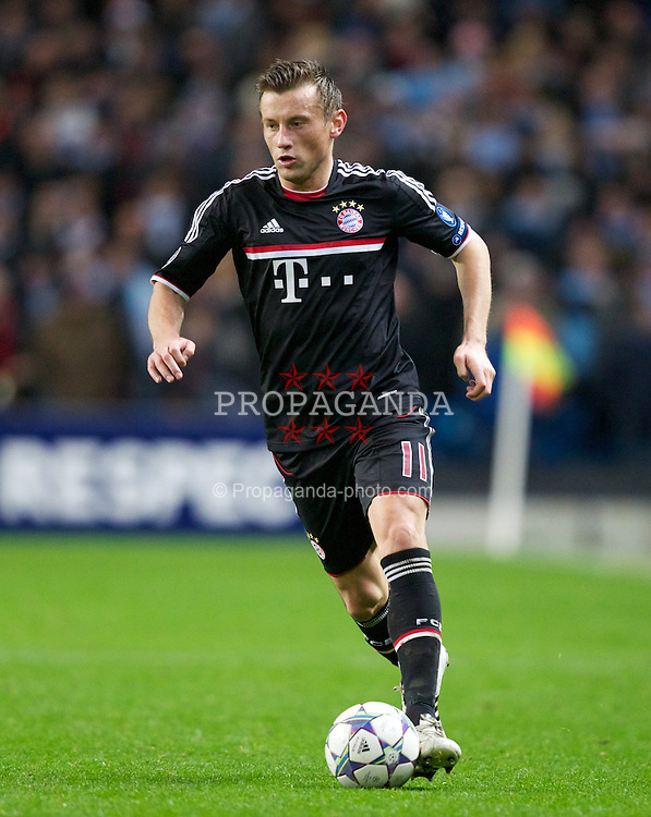 MANCHESTER, ENGLAND - Wednesday, December 7, 2011: FC Bayern Munchen's Ivica Olic during the UEFA Champions League Group A match against Manchester City at the City of Manchester Stadium. (Pic by Vegard Grott/Propaganda)