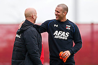 ALKMAAR - 20-10-2015, training Ron Vlaar, AFAS Stadion, Maarten Gozeling.