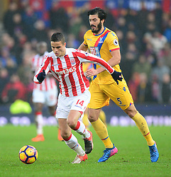 Ibrahim Afellay of Stoke City - Mandatory by-line: Alex James/JMP - 11/02/2017 - FOOTBALL - Bet365 Stadium - Stoke-on-Trent, England - Stoke City v Crystal Palace - Premier League
