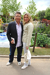 NEIL FOX and his wife VICTORIA at the 2008 Chelsea Flower Show 19th May 2008.<br /><br />NON EXCLUSIVE - WORLD RIGHTS