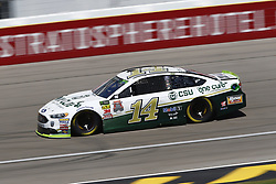 September 14, 2018 - Las Vegas, Nevada, United States of America - Clint Bowyer (14) brings his race car down the front stretch during practice for the South Point 400 at Las Vegas Motor Speedway in Las Vegas, Nevada. (Credit Image: © Chris Owens Asp Inc/ASP via ZUMA Wire)