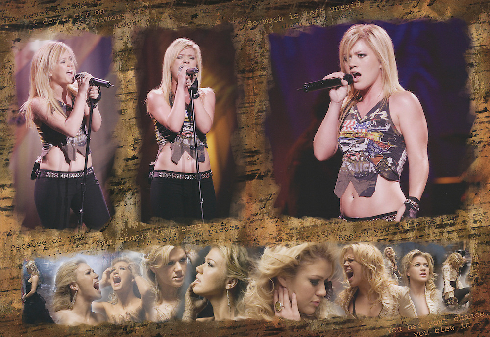 Kelly Clarkson Tour Book