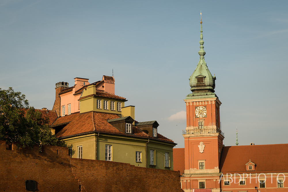 Old City Warsaw Poland