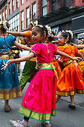 NEW YORK, NEW YORK. May 21, 2016. Performers during the 2016 Dance Parade along Broadway in New York City. 05/21/2016. Photo by Mariya Moseley/NYC News Service