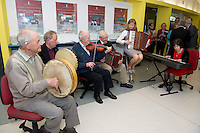 Ballinasloe Comortas   at NUIG for the launch of the Galway Age Friendly Strategy, which sets out a plan to make Galway City and County a great place in which to grow up and grow old. The Strategy was developed following extensive consultation with older people across the city and county and aims to ensure that older people continue to be supported to play an active role in their communities. The launch of the strategy is an important milestone as it sets out a blueprint for how we will plan and develop communities in the coming years to ensure that Galway is a truly great place in which to grow up and grow old. Photo:Andrew Downes