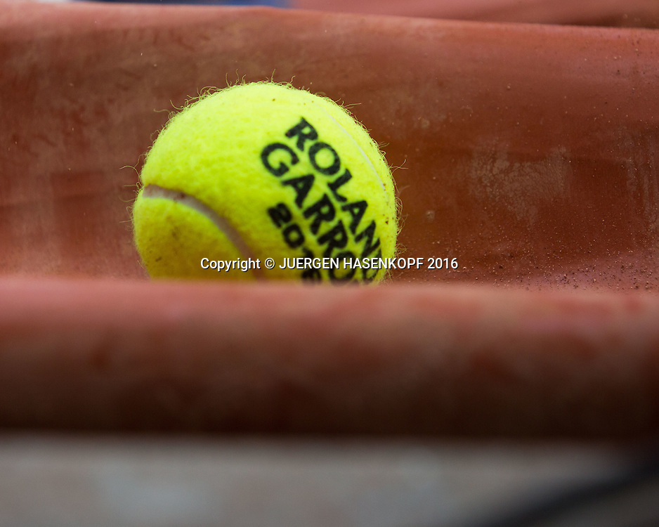 French Open 2016 Feature<br /> <br /> Tennis - French Open 2016 - Grand Slam ITF / ATP / WTA -  Roland Garros - Paris -  - France  - 28 May 2016.