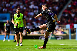 Joe Simmonds of Exeter Chiefs converts his kick following the try  - Mandatory by-line: Ryan Hiscott/JMP - 01/06/2019 - RUGBY - Twickenham Stadium - London, England - Exeter Chiefs v Saracens - Gallagher Premiership Rugby Final