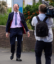 ©  London News Pictures. 17/09/2016. Bournemouth, UK. UKIP MP DOUGLAS CARSWELL arrives at Day  2 of the 2016 UKIP Autumn Conference, held at the Bournemouth International Centre in Bournemouth, Dorset. On Friday, the party elected Diane James as their new leader, following Nigel Farage resignation after the UK voted to leave the EU in a referendum..  Photo credit: Ben Cawthra/LNP