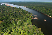 Essequibo River<br /> Iwokrama<br /> Rurununi<br /> GUYANA<br /> South America<br /> Longest river in Guyana