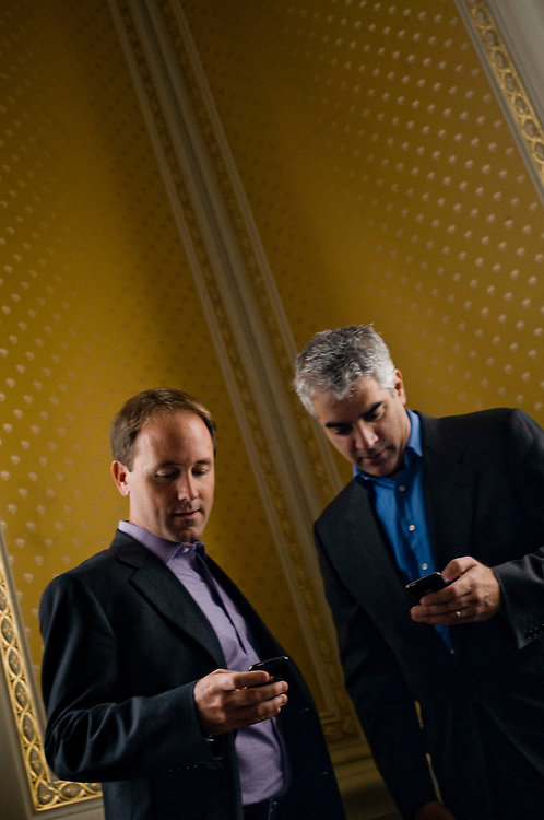 Nicholas Christakis  and James Fowler..Photographer: Chris Maluszynski /MOMENT