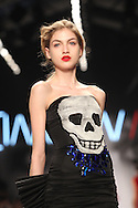 PARIS, FRANCE - MARCH 08:  A model walks the runway during the Jean-Charles de Castelbajac Ready to Wear Autumn/Winter 2011/2012 show during Paris Fashion Week at Pavillon Concorde on March 8, 2011 in Paris, France.  (Photo by Tony Barson/Getty Images)