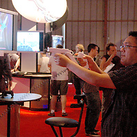 E3 Show at Barker Hanger on  Wednesday, July 11, 2007..