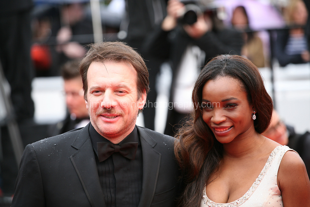 Samuel Le Bihan and his wife Daniela  arriving at the Vous N'Avez Encore Rien Vu gala screening at the 65th Cannes Film Festival France. Monday 21st May 2012 in Cannes Film Festival, France.
