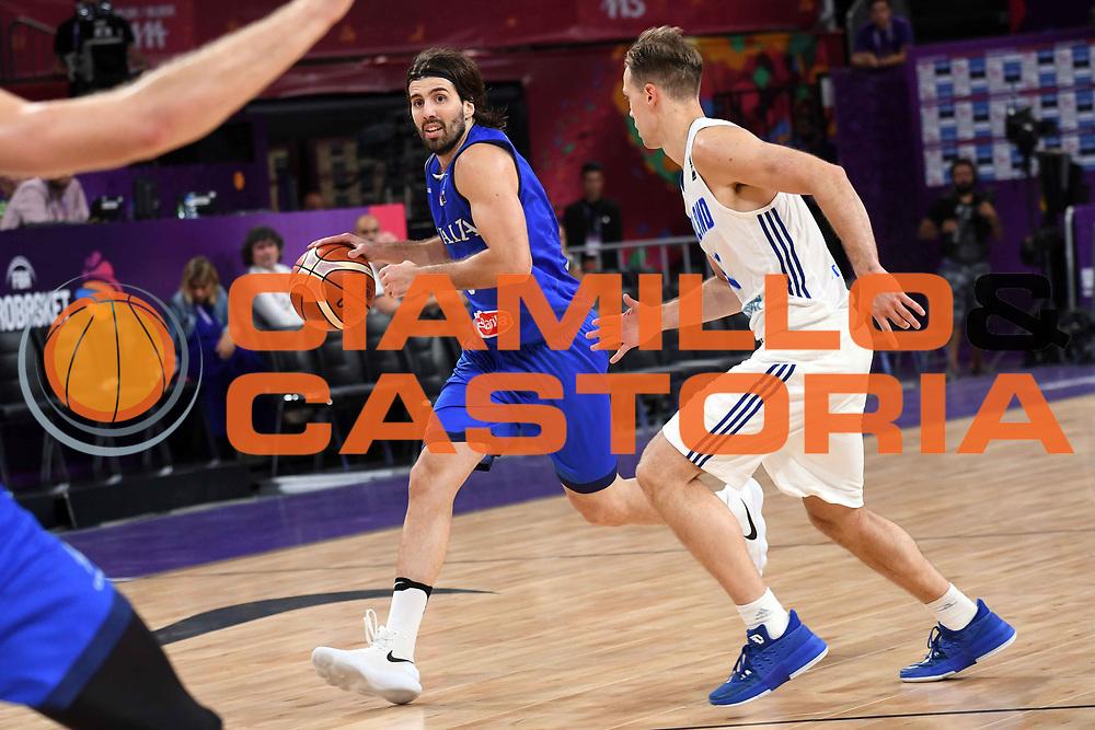 Ariel Filloy<br /> Nazionale Italiana Maschile Senior<br /> Eurobasket 2017 - Final Phase - Round of 16<br /> Finlandia Italia Finland Italy<br /> FIP 2017<br /> Istanbul, 09/09/2017<br /> Foto M.Ceretti / Ciamillo - Castoria