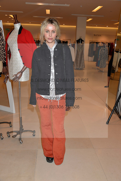 BILLY JD PORTER at the launch of the 'Jasmine for Jaeger' fashion collection by Jasmine Guinness for fashion label Jaeger held at Fenwick's, Bond Street, London on 9th September 2015.