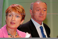 Tessa Jowell MP, Secretary of State for Culture, Media and Sport, speaking at the TUC 2005 with Ken Livingstone, Mayor of London. ...© Martin Jenkinson, tel 0114 258 6808 mobile 07831 189363 email martin@pressphotos.co.uk. Copyright Designs & Patents Act 1988, moral rights asserted credit required. No part of this photo to be stored, reproduced, manipulated or transmitted to third parties by any means without prior written permission