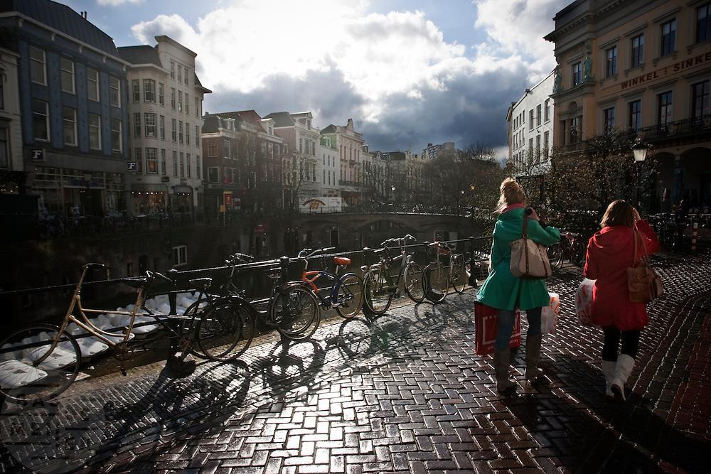 Regenachtige dag in Utrecht