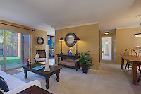 Westwind Annapolis Apartments interior image of dining room at model unit by Jeffrey Sauers of Commercial Photographics