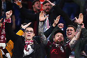 Supporters of Cluj before the UEFA Europa League, Group E football match between SS Lazio and CFR Cluj on November 28, 2019 at Stadio Olimpico in Rome, Italy - Photo Federico Proietti / ProSportsImages / DPPI