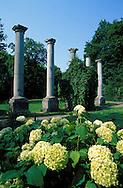DEU, Germany, Aachen, old pillars at the Lousberg....DEU, Deutschland, Aachen, alte Saeulen auf dem Lousberg .. ......