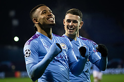 Gabriel Jesus of Manchester City celebraqting during football match between GNK Dinamo Zagreb and Manchester City in 6th Round of UEFA Champions league 2019/20, on December 11, 2019 in Maksimir, Zagreb, Croatia. Photo by Blaž Weindorfer / Sportida
