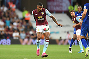 Aston Villa striker Wesley (9) controls the ball during the Premier League match between Aston Villa and Everton at Villa Park, Birmingham, England on 23 August 2019.