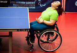 LEONELLI Tamara Isabel (CHI) during Team events at Day 4 of 16th Slovenia Open - Thermana Lasko 2019 Table Tennis for the Disabled, on May 11, 2019, in Dvorana Tri Lilije, Lasko, Slovenia. Photo by Vid Ponikvar / Sportida