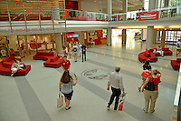 New students and parents get directions in Talley Student Union during orientation.