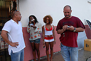 Immigrant Film shoots TVT recording artist, Pitbull's video for Ay Chico (Lengua Afuera), in Little Havana, Florida..October 12, 2006.Hasain Rasheed Photography<br />