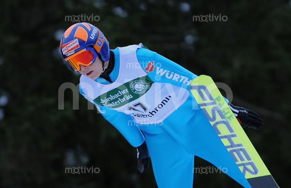 FIS Continental Cup Skispringen Damen  17.01.2009 Melanie Faisst (SV Baiersbronn)