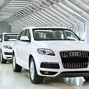 Factory shoot of Audi Q7