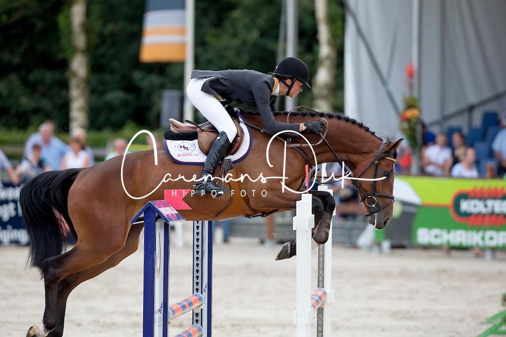 Botman Nicole (NED) - Dollards Dylan<br /> KWPN Paardendagen - Ermelo 2012<br /> © Dirk Caremans