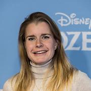 NLD/Amsterdam/20191116 - Filmpremiere Frozen II,  Yara van Kerkhof
