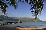 Hanalei Pier, Hanalei, Kauai, Hawaii<br />