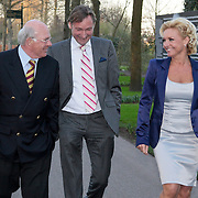 NLD/Lisse/20110323 - Opening Keukenhof 2011 door Willem - Alexander en president Duitsland Wulff en partner, Mariska en haar nieuwe partner Edgar Peer
