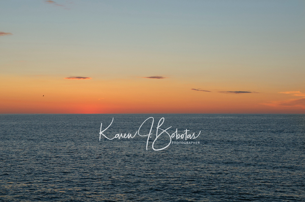 Sunrise Marginal Way Ogunquit, Maine.  ©2012 Karen Bobotas Photographer